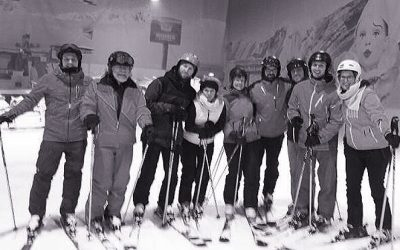 Skifahrtsbegleiter auf Skifortbildung