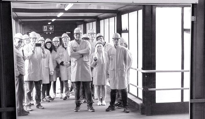Besuch des Stahlwerkes HKM in Duisburg
