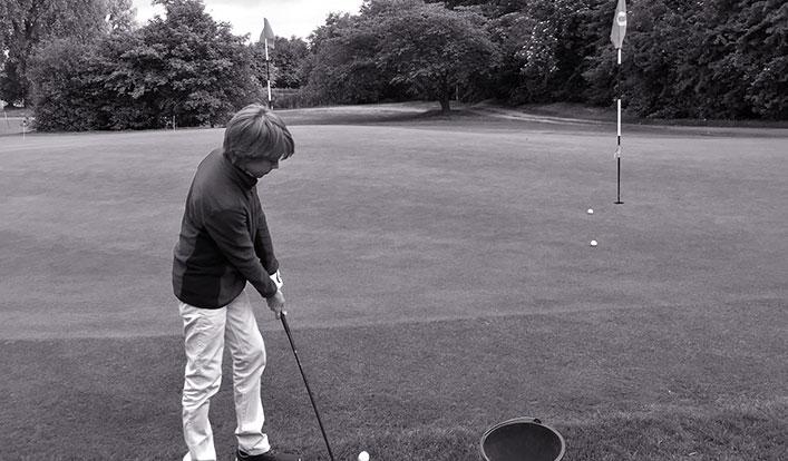 Goethe-Schüler trainieren Golf für Olympia