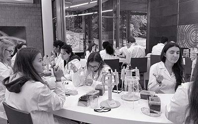 Biologie Leistungskurs Q1 im Gen-Labor