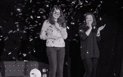 """Rose Hörsting (Q1) gewinnt Poetry Slam """"Zwischenruf"""""""