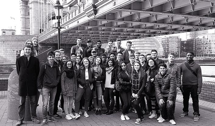 Studienfahrt nach London der Leistungskurse Erdkunde und Mathematik