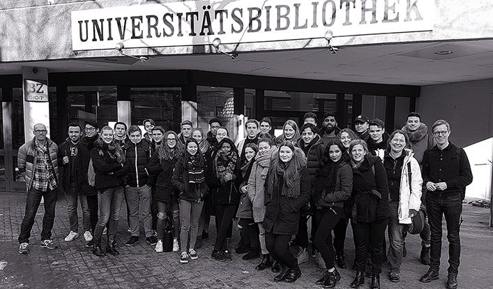 Erdkundeleistungskurse zum Schnuppertag an der Universität Wuppertal