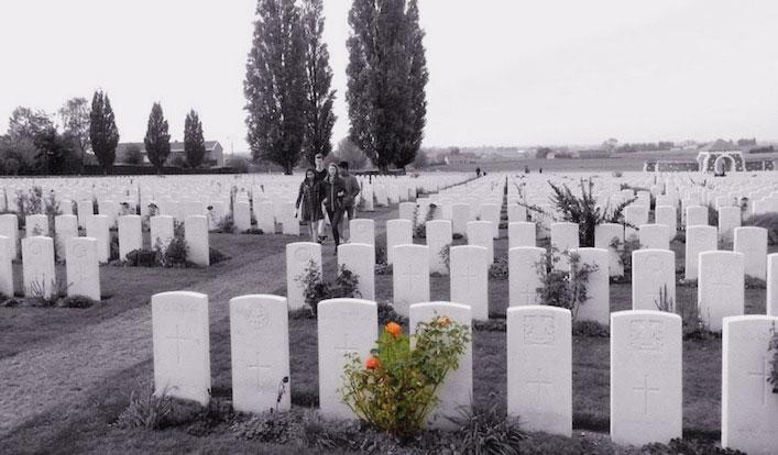 """""""In Flanders Fields"""" – Gedenkfahrten nach Flandern"""