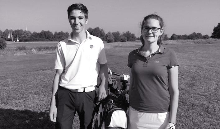 """Das Goethe-Golfteam bei """"Jugend trainiert für Olympia"""""""